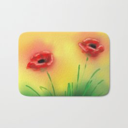 Poppies Bath Mat