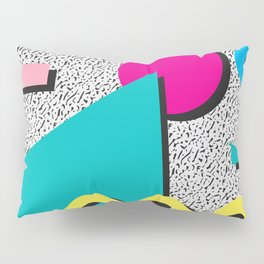 Abstract 1980's Pillow Sham