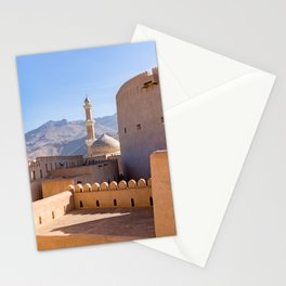 Grand mosque in Nizwa - Oman Stationery Cards