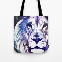 Purple Lion Tote Bag