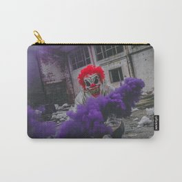 Halloween Scary Clown (Color) Carry-All Pouch