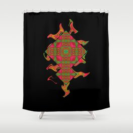 Cross those bricks when you get there. Shower Curtain