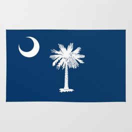 Flag of South Carolina - High Quality image Rug