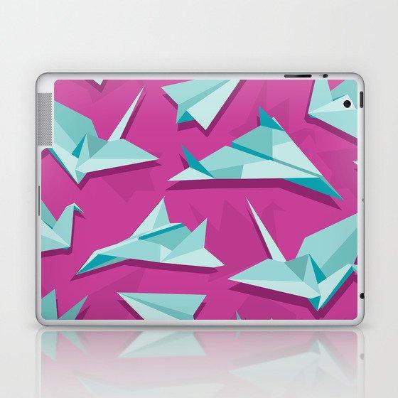 planes and cranes Laptop & iPad Skin
