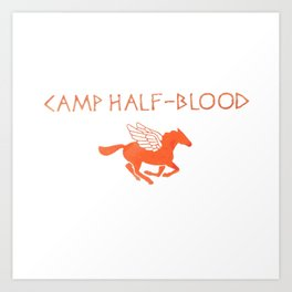 camp half blood original Art Print