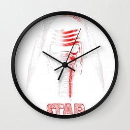 Emanation of Kylo Ren Wall Clock