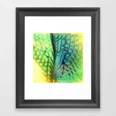 unfold Framed Art Print