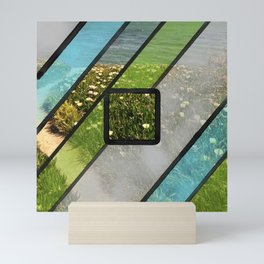 Summer Ocean Glass Mini Art Print