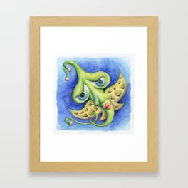 Flight of fancy / Sueño Volador Framed Art Print