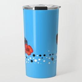 Coquelicot et souvenir bis Travel Mug