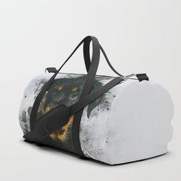 Rottweiler Pup Duffle Bag