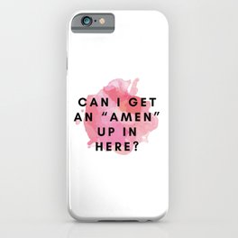 Rupaul Quote iPhone Case