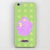 lumpy space princess iPhone & iPod Skins featuring Adventure Time - Lumpy Space Princess by LightningJinx