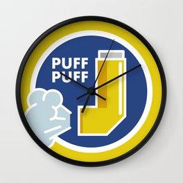 Puff Puff Wall Clock