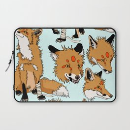 Lord Fox character design, color Laptop Sleeve