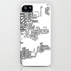 World Map - Atlas Slim Case iPhone (5, 5s)