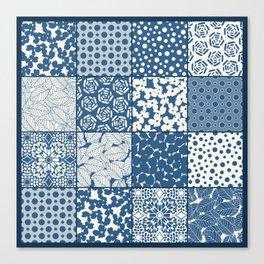 Tile Patchwork Canvas Print
