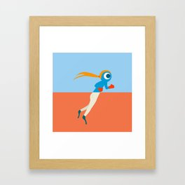 Pantless Project / PUNCHY Framed Art Print