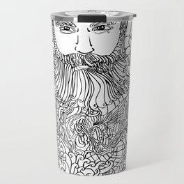 Tattooed with Roses Travel Mug