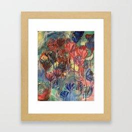 Bou-hoo-quet Framed Art Print