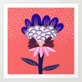 Fabuluscious Flower Art Print