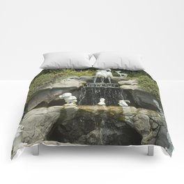 Snow's Waterfall Comforters