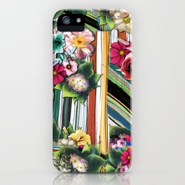 Flower pattern. For textile, wallpaper, pattern fills, covers, surface, printing, gift wrap, scrapbooking, jigsaws. Seamless pattern iPhone Case