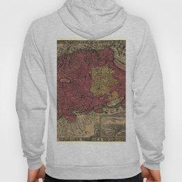 Map Of Bern 1638 Hoody