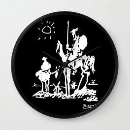 Pablo Picasso Don Quixote 1955 Artwork Shirt, Reproduction Wall Clock