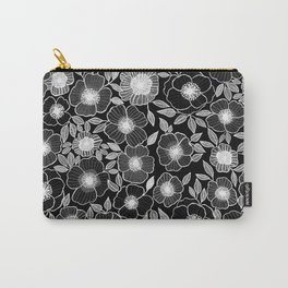 Poppy Black Carry-All Pouch