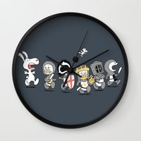 run Wall Clocks featuring Run away! Run away!  by Anna-Maria Jung
