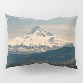 Mountain Valley Pacific Northwest - Nature Photography Pillow Sham