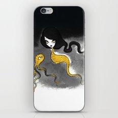 Golden Scales iPhone Skin