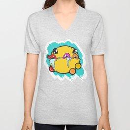 Pac Man Unisex V-Neck