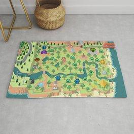 Animal Crossing (どうぶつの 森) Rug