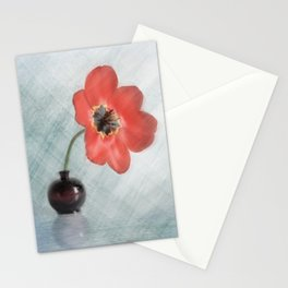 Big tulip Art Stationery Cards