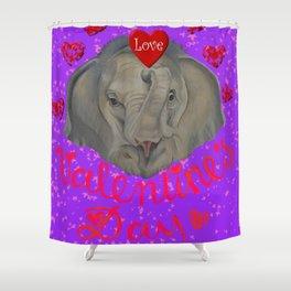 Happy Valentine! Shower Curtain
