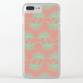 Dinosaur (Faded) Clear iPhone Case
