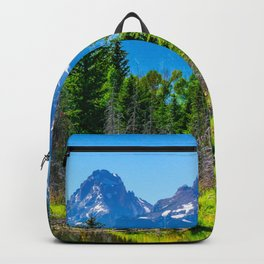 Grand Teton National Park Mountains Hike Wyoming Landscape Nature Backpack