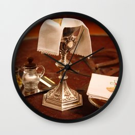 Holy communion Wall Clock