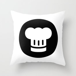 Chef Ideology Throw Pillow