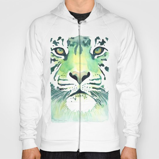 Green Tiger Hoody
