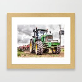 Tractor 2 Framed Art Print