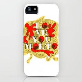 Love you molto iPhone Case