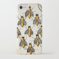 medieval iPhone & iPod Cases featuring Medieval Swarm by Vintage Avenue