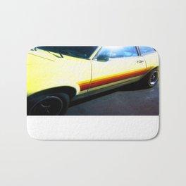 Yellow Car Bath Mat