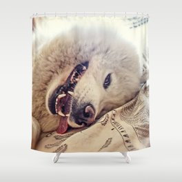 Playful One Shower Curtain