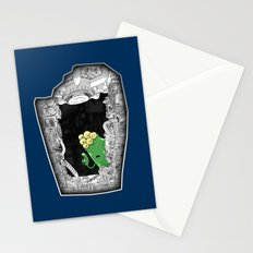'scuse me ... Stationery Cards