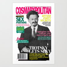 COSMARXPOLITAN, Issue 8 Art Print