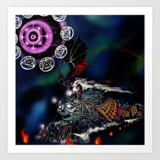 Doomtrain Diablos Art Print